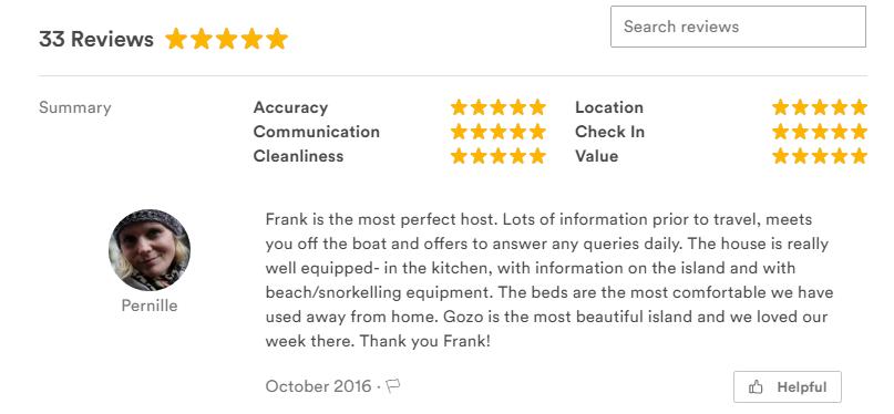 Gozo reviews