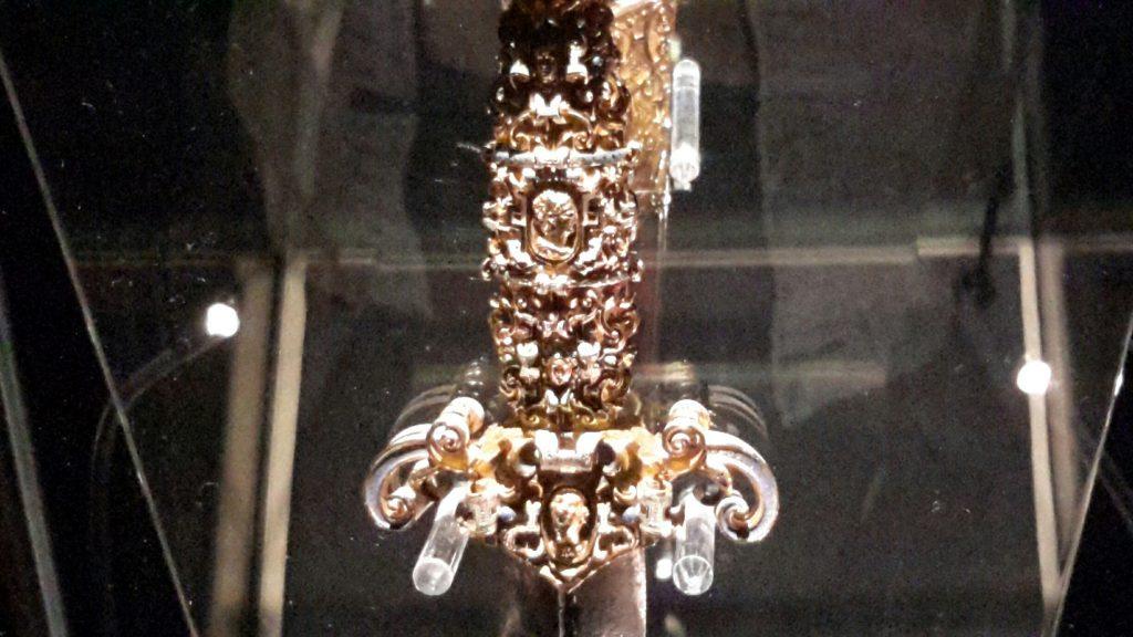 de Valette dagger - detail