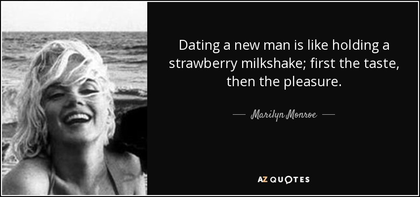Marilyn Monroe's quote on strawberries