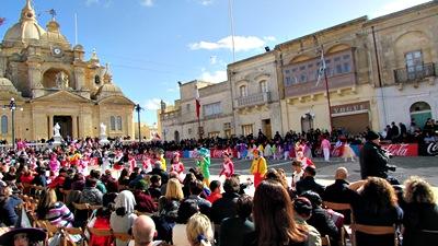 Carnival in Gozo Malta