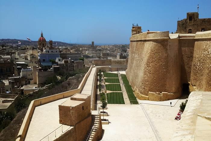 Gozo citadel restoration