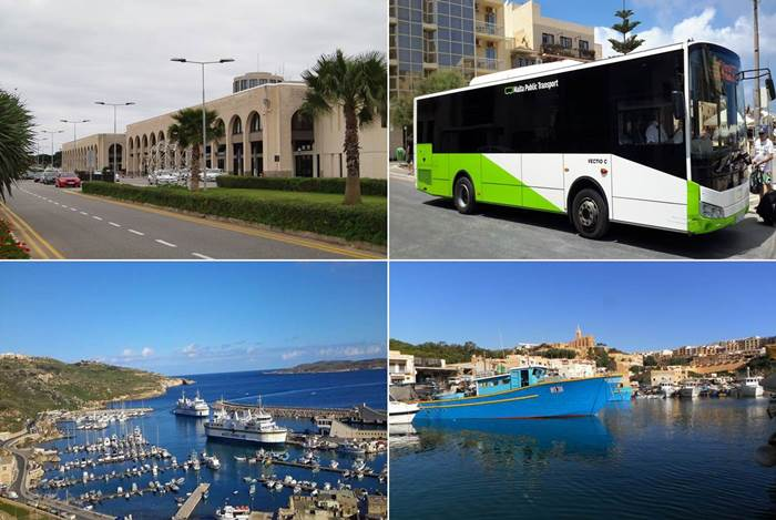 How to reach us from Malta airport