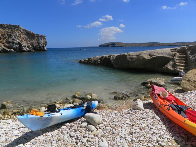Gozo kayaking