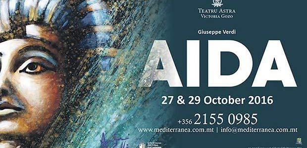 Giuseppe Verdi's Aida at Astra Theatre Gozo, Malta