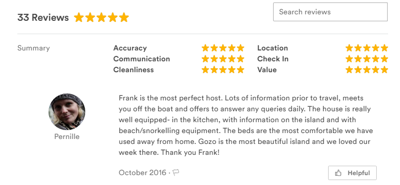 Gozo reviews