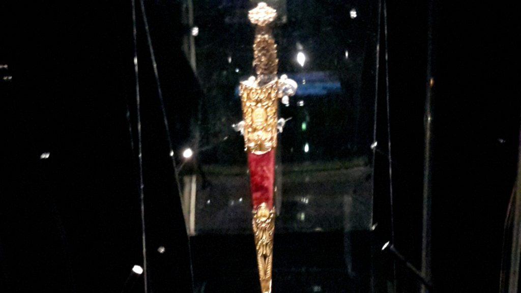 de Valette dagger