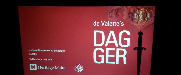 de Valette dagger exhibition 2017