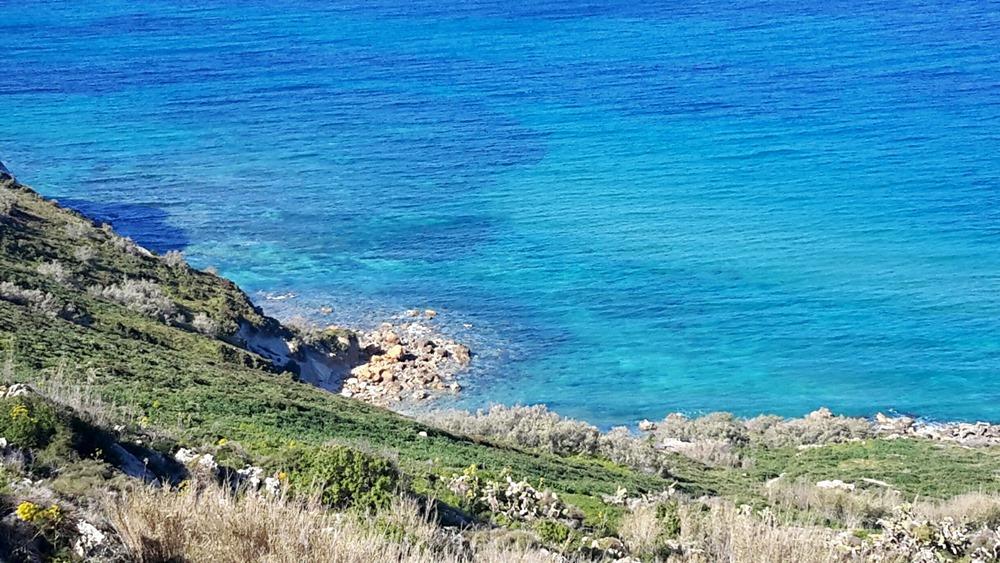 Gozo walking map