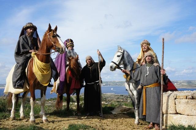 Christmas village Gozo
