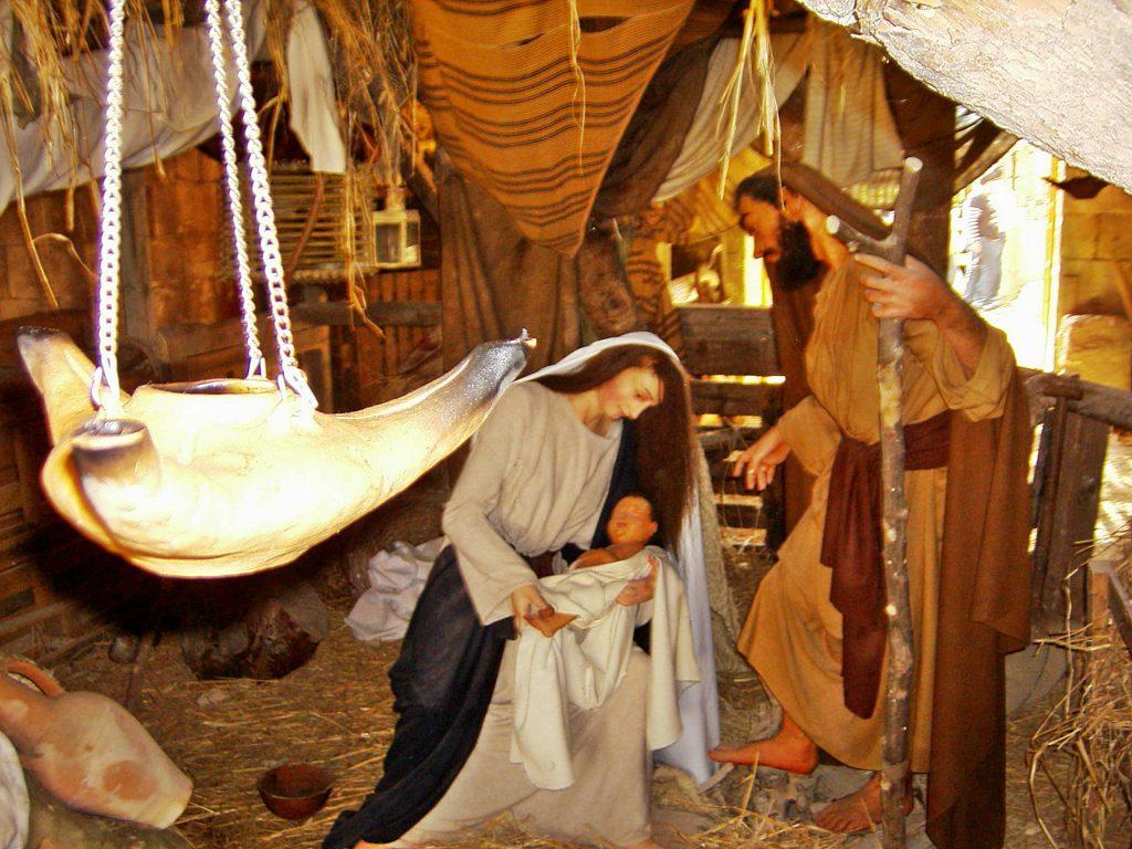 Chrismtas - Bethlehem in Ghajnsielem