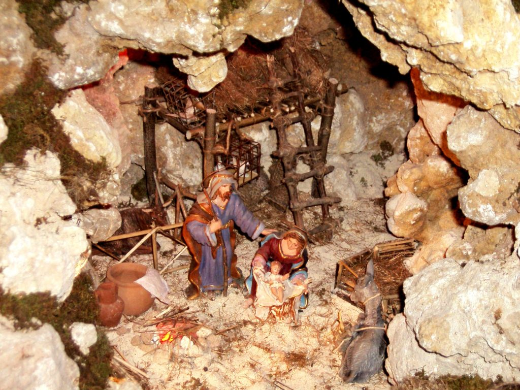 Christmas Crib Gozo Malta