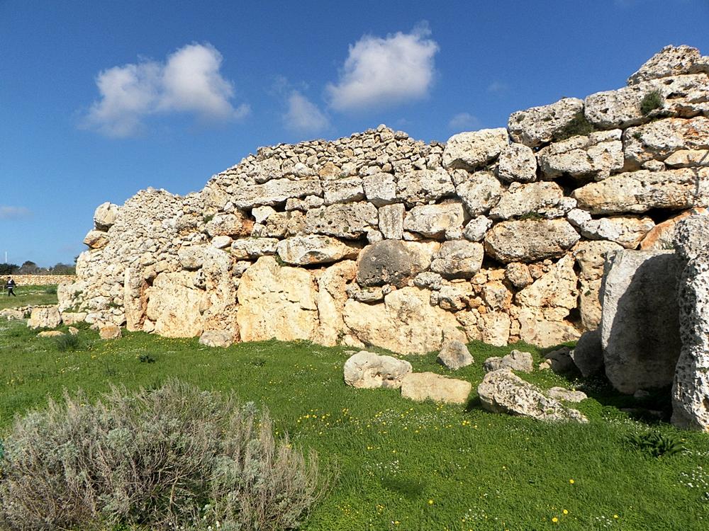 Megalithic temples of Malta Gozo Ggantija temples