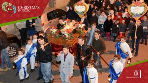 Christmas procession and pagaent Nadur Gozo