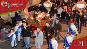 Christmas procession and pagaent Nadur Gozo