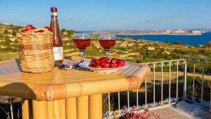 Gozo accommodation with sea views Malta
